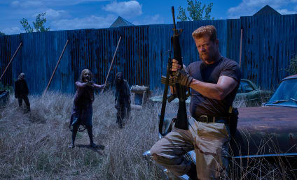 The Walking Dead Preview: Michael Cudlitz Teases Alexandria Future, Zombie Herd
