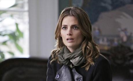 A Shocked Kate Beckett - Castle Season 7 Episode 13