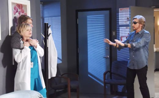 Tripp Tries to Kill Kayla - Days of Our Lives