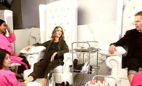 Mani Pedi Time - Grey's Anatomy Season 15 Episode 12
