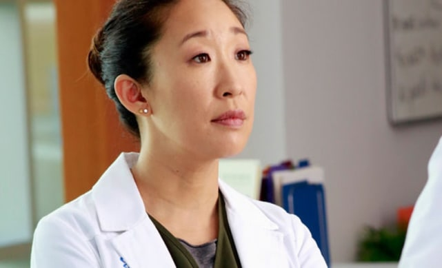 Cristina Yang on Grey's Anatomy