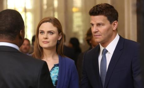 Brennan and Booth with the Deputy Director
