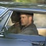 Sam and Dean crusing around town - Supernatural Season 11 Episode 5