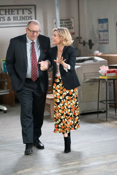 Jay and Claire - Modern Family Season 10 Episode 13