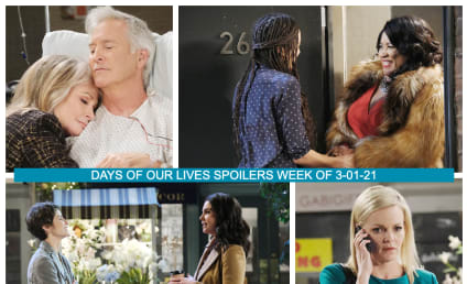 Days of Our Lives Spoilers Week of 3-01-21: Is Sami Innocent?