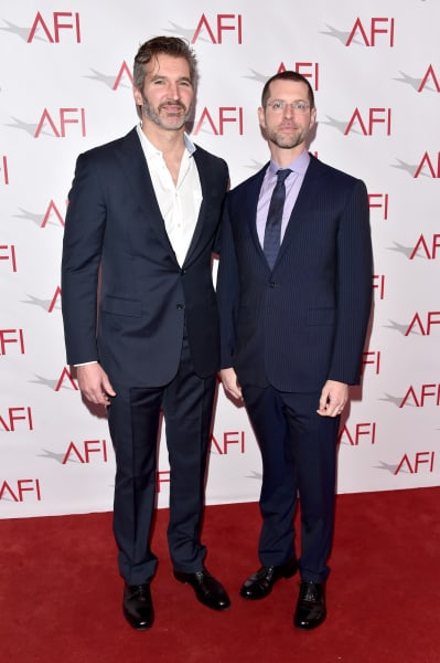 Writer/producers David Benioff and D. B. Weiss