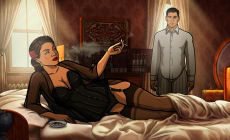 Lana and Archer Have a Moment Season 8 Episode 5