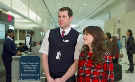 Stranded at the Airport - New Girl