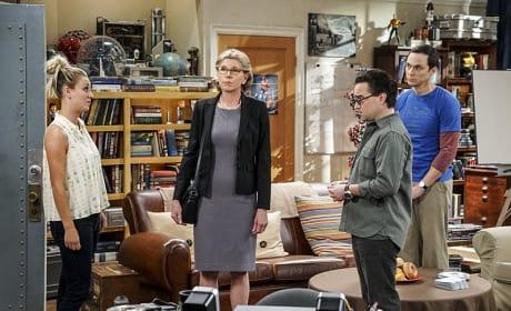 Awkward Family Moment - The Big Bang Theory Season 10 Episode 1