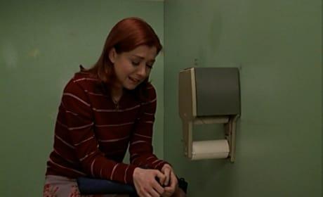 Heartbroken Willow - Buffy the Vampire Slayer Season 3 Episode 15