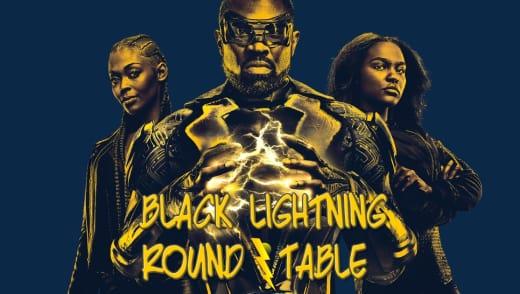 Black Lightning Round Table