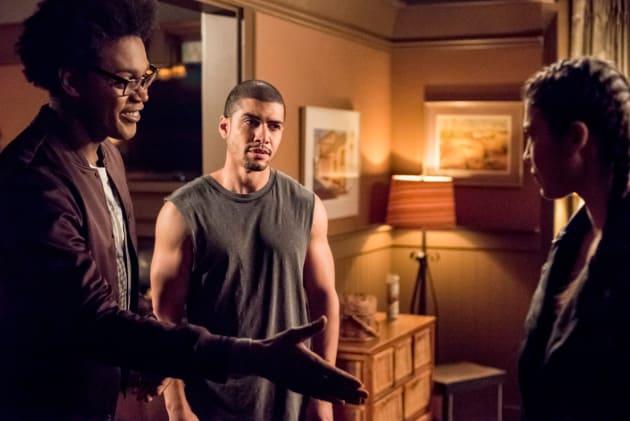 Curtis Has Questions  - Arrow Season 7 Episode 10