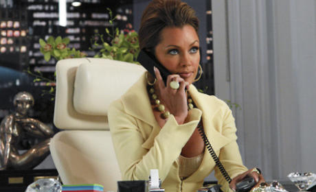 Wilhelmina on the Phone