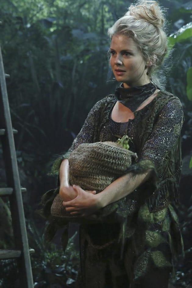 Tinkerbell Looks Worried