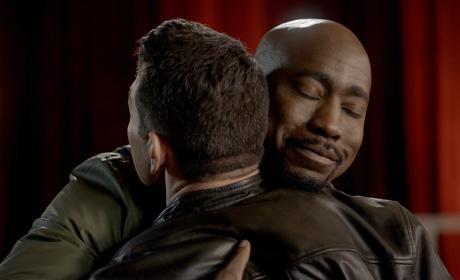 Goodbye Hug - Lucifer Season 2 Episode 18