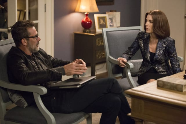 The Good Wife - Alicia and Jason