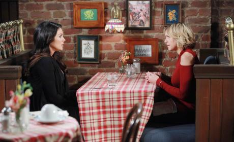 Chloe and Nicole Mend Fences - Days of Our Lives