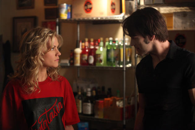 Sookie and Bill Look Intense