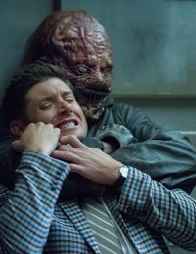 Hatchet Man And Dean - Supernatural Season 14 Episode 4
