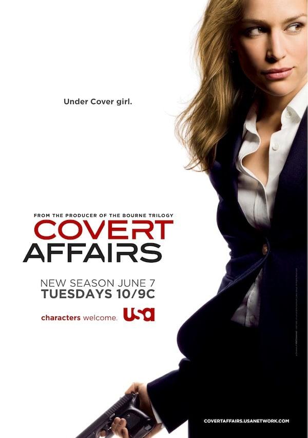 Covert Affairs Season 2 Poster