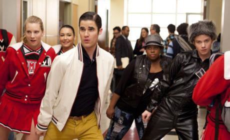Blaine Does MJ
