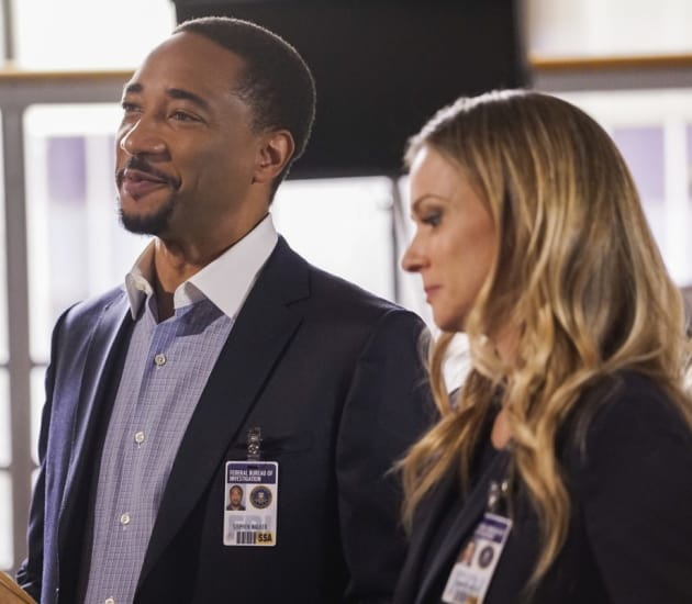 Bizarre Marking - Criminal Minds Season 12 Episode 11