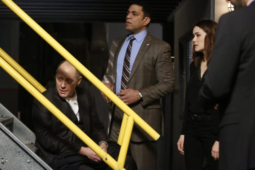 Red needs to sit - The Blacklist Season 4 Episode 15