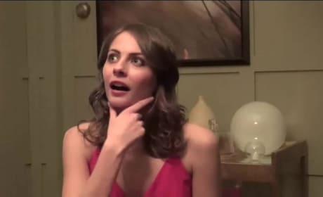 Willa Holland Set Interview