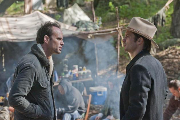 Boyd Argues with Raylan