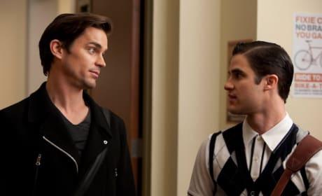 Matt Bomer on Glee