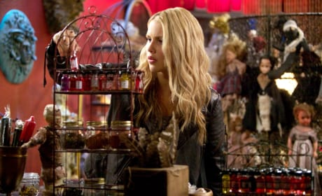 Rebekah Goes Shopping