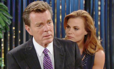 Comforting After Adam's Death - The Young and the Restless