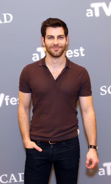 David Giuntoli Attends Event