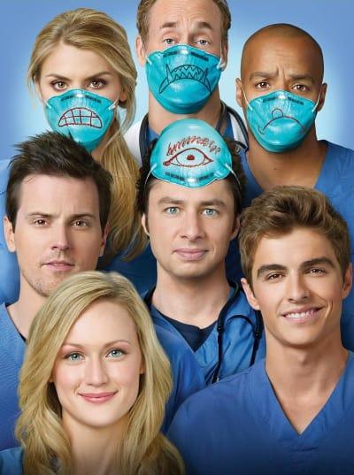 Scrubs Season Nine Cast Pic