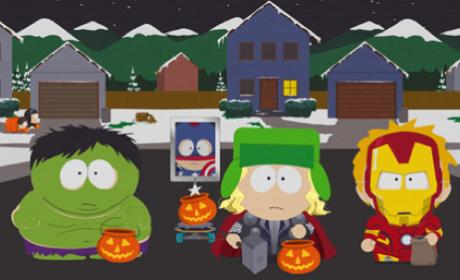 The Boys Halloween Plan