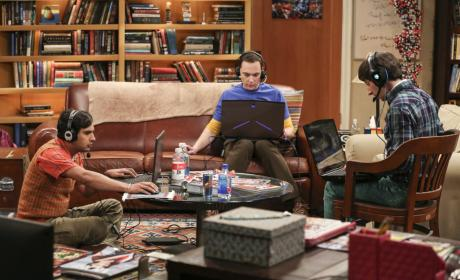 Video Game Night - The Big Bang Theory