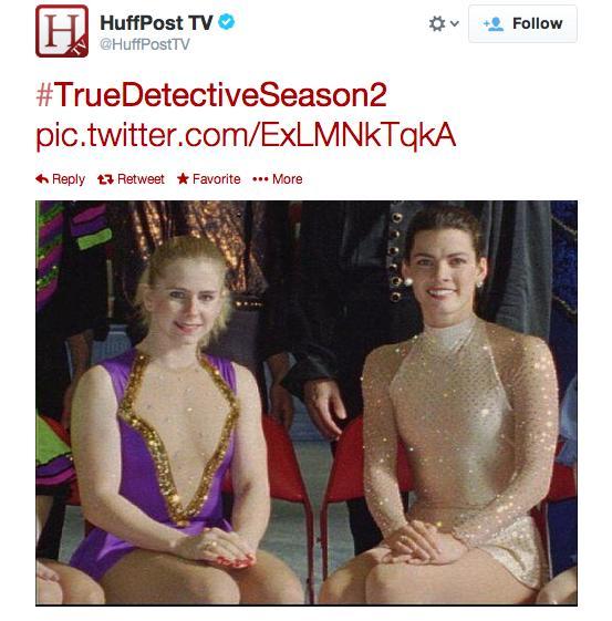 Nancy Kerrigan and Tonya Harding on True Detective Season 2?