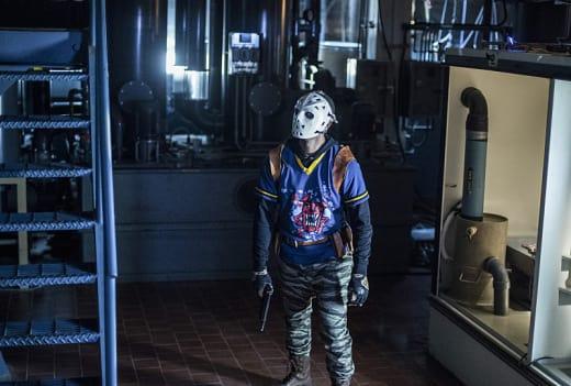 Wild Dog In Costume! - Arrow