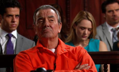 Victor in Orange - The Young and the Restless