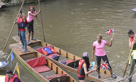 Boating in Oxford - The Amazing Race