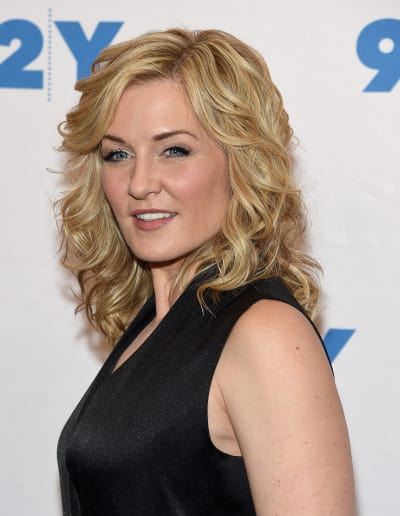 Amy Carlson Promotes Blue Bloods