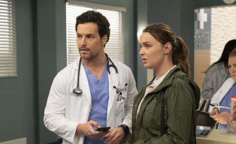 Jo Reveals the Truth - Grey's Anatomy