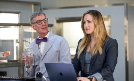 Bill Nye Visits the Lab - Blindspot