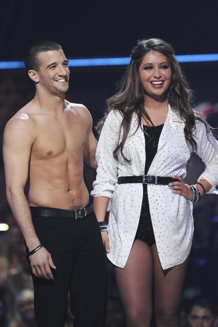 Mark Ballas and Bristol Palin Photo
