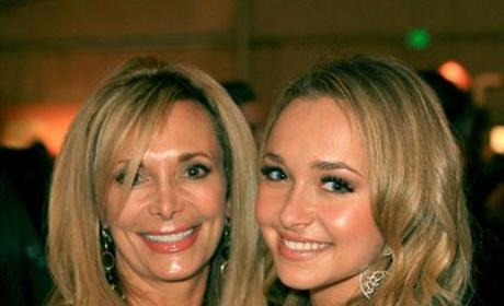 Hayden and Lesley Panettiere