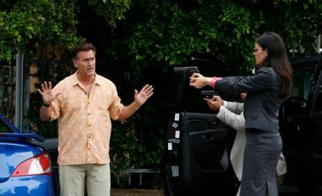 Agent Pearce vs. Sam