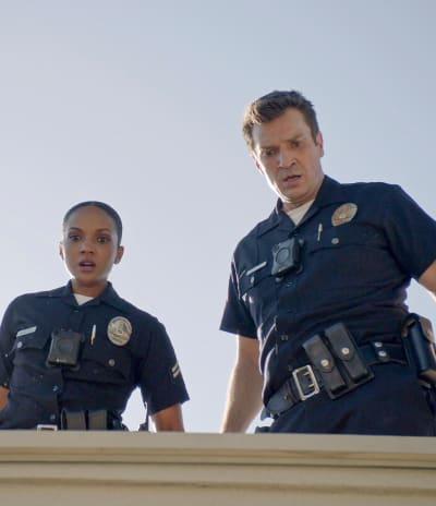 Harper and Nolan - The Rookie Season 3 Episode 3