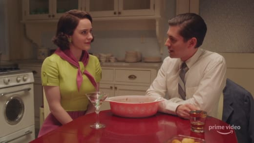 Joel and Midge Prepare to Part - The Marvelous Mrs. Maisel