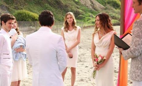 Jack-Amanda Wedding Scene