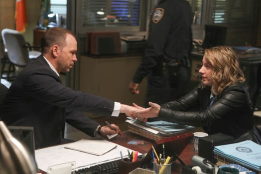 Danny and Faith - Blue Bloods Season 8 Episode 7